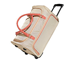 TJ Riley Co Polyester Rolling Trolley