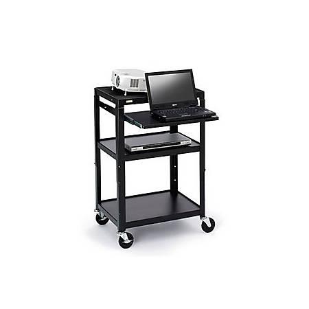 "Bretford Basics Adjustable A/V Cart A2642-E5 - Cart for TV, overhead projector, VCR - steel - screen size: 13""-20"""