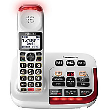 Panasonic Amplified Cordless Phone With Answering