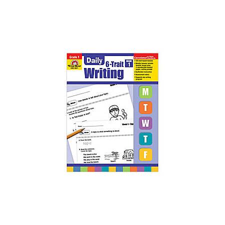 Evan-Moor® Daily 6-Trait Writing Workbook, Grade 1
