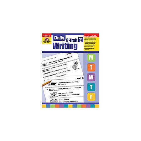 Evan-Moor® Daily 6-Trait Writing Workbook, Grade 2