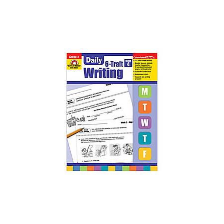 Evan-Moor® Daily 6-Trait Writing Workbook, Grade 4