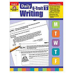 Evan Moor Daily 6 Trait Writing