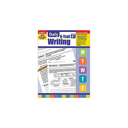 Evan-Moor® Daily 6-Trait Writing Workbook, Grade 6+