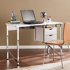 Southern Enterprises Waypoint Writing Desk White