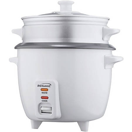 Brentwood TS-480S Rice Cooker and Steamer - 2.64 quart