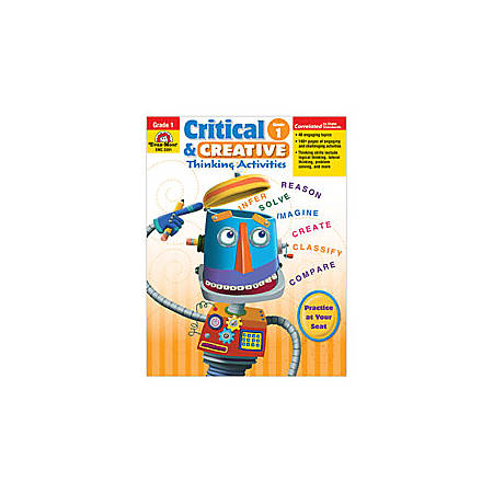 Evan-Moor® Critical And Creative Thinking Activities, Grade 1