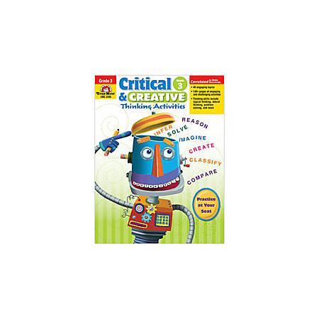Evan-Moor® Critical And Creative Thinking Activities, Grade 3