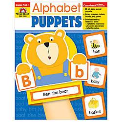 Evan Moor Alphabet Puppets