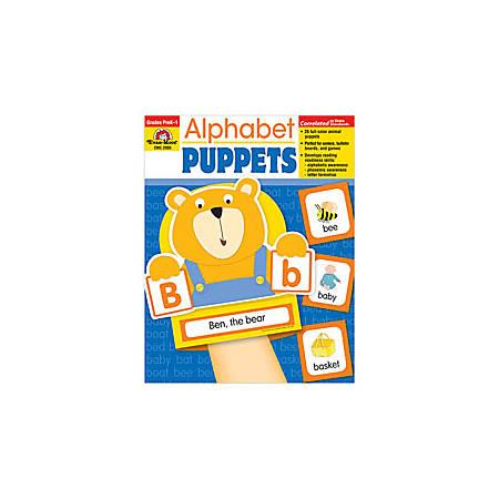 Evan-Moor® Alphabet Puppets