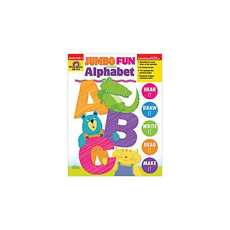 Evan-Moor® Jumbo Fun With The Alphabet — Revised