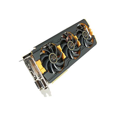 Sapphire RADEON R9 290X Tri-X OC (UEFI) - Graphics card - Radeon R9 290X - 4 GB GDDR5 - PCIe 3.0 - 2 x DVI, HDMI, DisplayPort - retail