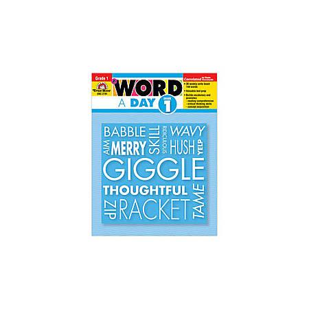 Evan-Moor® A Word A Day, Grade 1