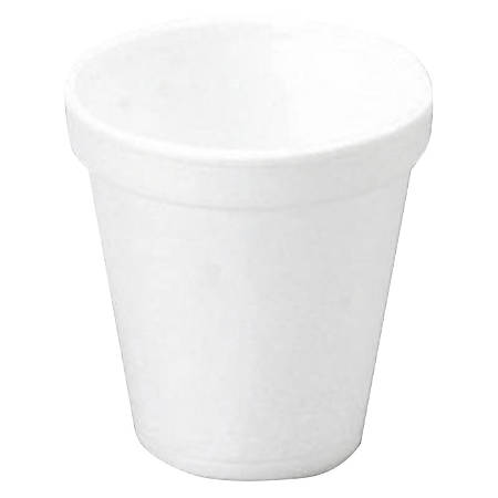 Convermex Disposable Foam Cups, 10 Oz, White, Pack Of 1,000