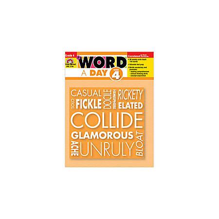 Evan-Moor® A Word A Day, Grade 4