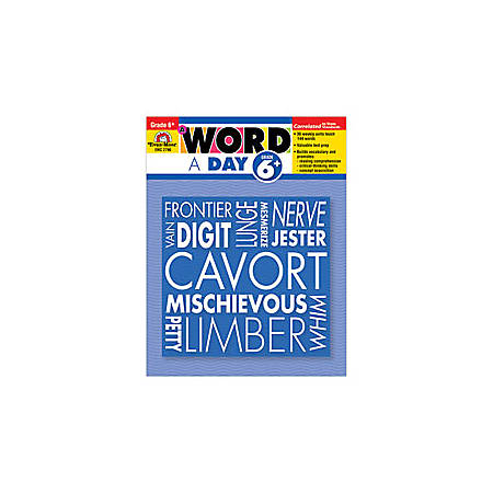 Evan-Moor® A Word A Day, Grade 6+