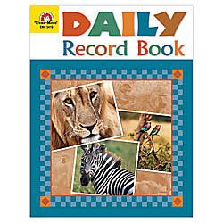 Evan Moor Daily Record Book Safari