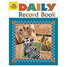 Evan Moor Daily Record Book Safari