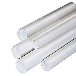 Office Depot Brand White Mailing Tubes