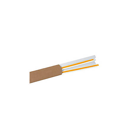"Slip-Strip™ Label Holder Strips, 1"" x 48"", Clear, Pack Of 6"