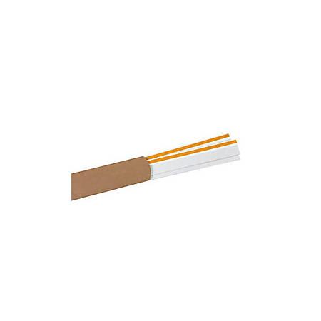 "Slip-Strip™ Label Holder Strips, 1 1/4"" x 48"", Clear, Pack Of 6"