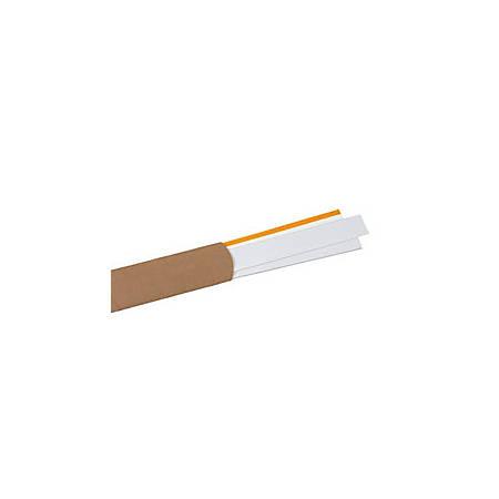 "Slip-Strip™ Label Holder Strips, 2"" x 48"", Clear, Pack Of 6"