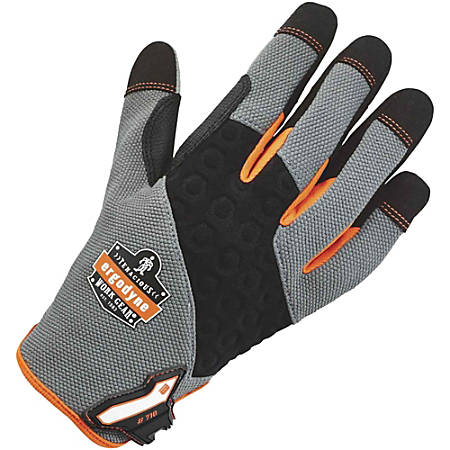 710 L Gray Heavy-Duty Utility Gloves