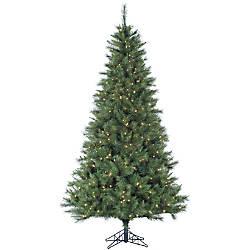 Pre Lit Canyon Pine Artificial Christmas