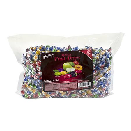 Colombina Mini Fruit-Filled Hard Candy Assortment, 2.2-Lb Bag