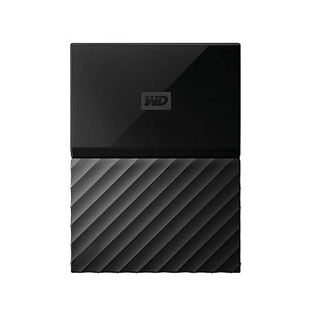 My Passport™ 2TB Portable External Hard Drive, WDBS4B0020BBK-WESN, Black