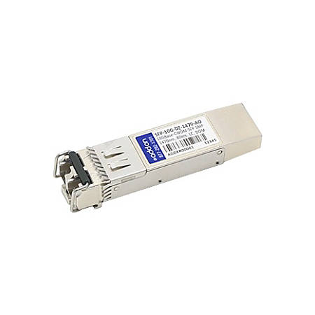 AddOn Arista Networks SFP-10G-DZ-1470 Compatible TAA Compliant 10GBase-CWDM SFP+ Transceiver (SMF, 1470nm, 80km, LC, DOM)