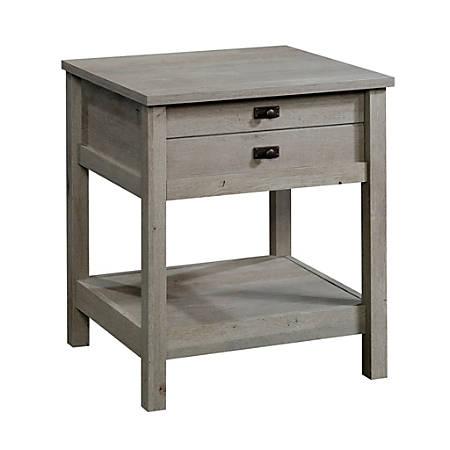 Sauder® Cottage Road Side Table, Rectangular, Mystic Oak
