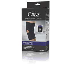 CURAD Open Patella Knee Supports Large