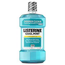 Listerine Cool Mint Antiseptic Mouthwash 15