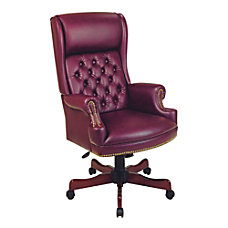 Office Star Traditional High Back Chair