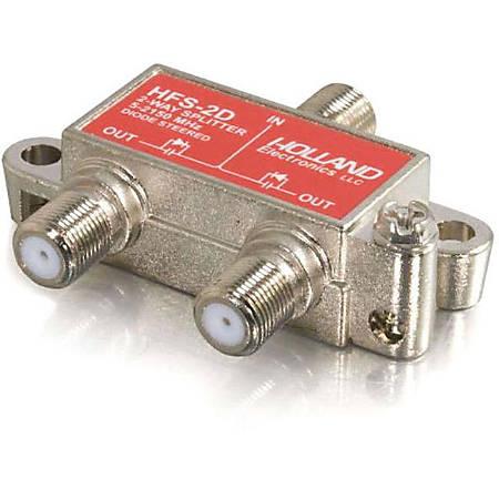 C2G High-Frequency 2-Way Splitter - 2-way - 2150MHz
