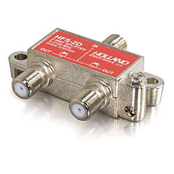 C2G High Frequency 2 Way Splitter