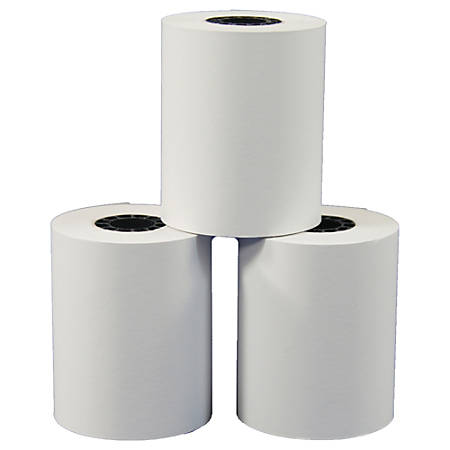 "Office Depot® Brand Thermal Preprinted Paper Rolls, 2 1/4"" x 85', White, Pack Of 9"