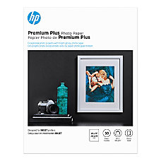 HP Premium Plus Glossy Photo Paper