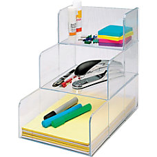 Sparco 3 Compartment Desktop Storage Organizer
