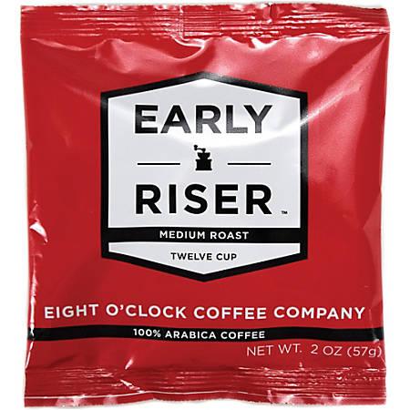 Coffee Pro Eight O'Clock Early Riser Coffee - Arabica - 2 oz - 48 / Carton