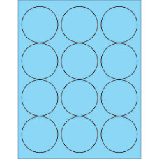 Office Depot Brand Labels LL194BE Circle