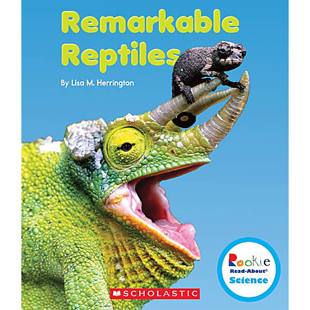 Scholastic Rookie Read-About Science: Strange Animals, Remarkable Reptiles, Grades 1 - 2, Box Of 84