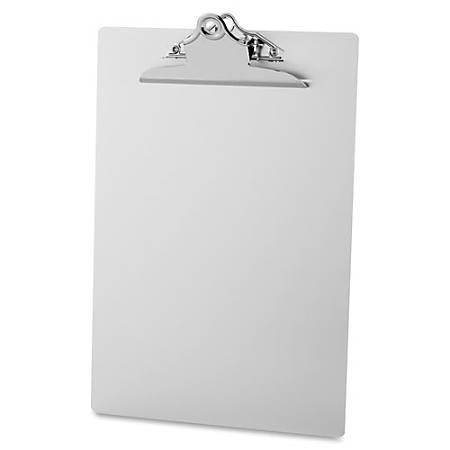 "Sparco Aluminum Clipboard, 8 1/2""x 11 1/2"", Silver"
