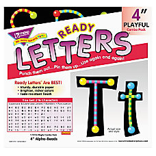 Trend 4 Ready Letter Alphabeads 59