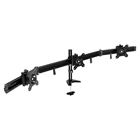 """DAC Mounting Arm for Monitor - Black - 24"""" Screen Support - 13 lb Load Capacity"""