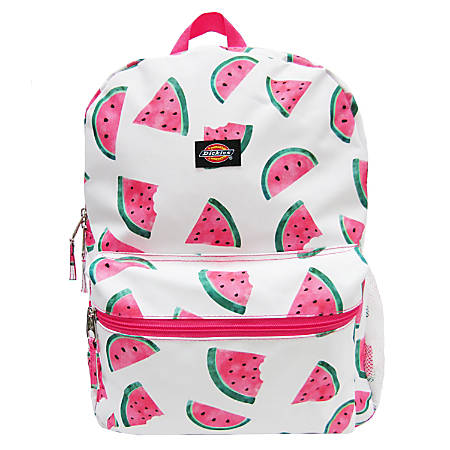 """Dickies Student Backpack With 15"""" Laptop Pocket, Watermelon"""