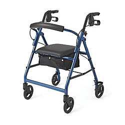 Guardian Basic Rollator 6 Wheels Blue