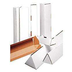 Office Depot Brand Triangular White Tube