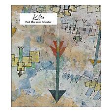 Retrospect Paul Klee Monthly Desk Calendar